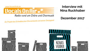Nina Ruckhaber im Gespräch mit Vocals On Air