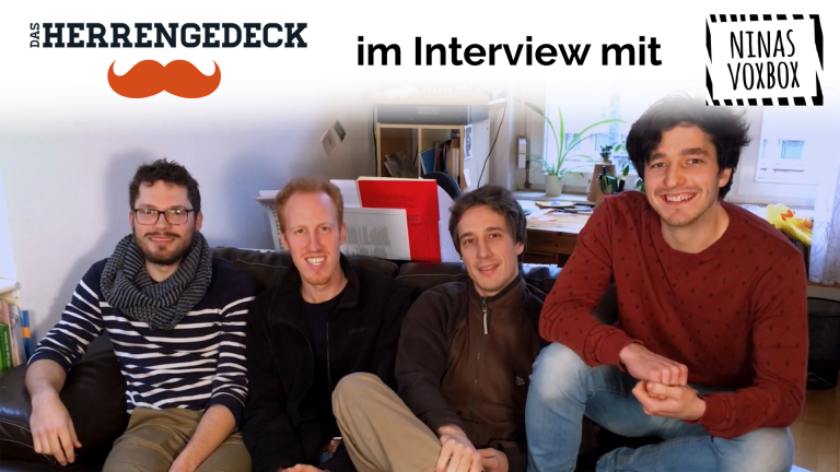 Das Herrengedeck im Interview