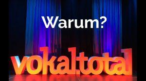 <span>vokal.total 2018, Graz</span> Warum vokal.total?