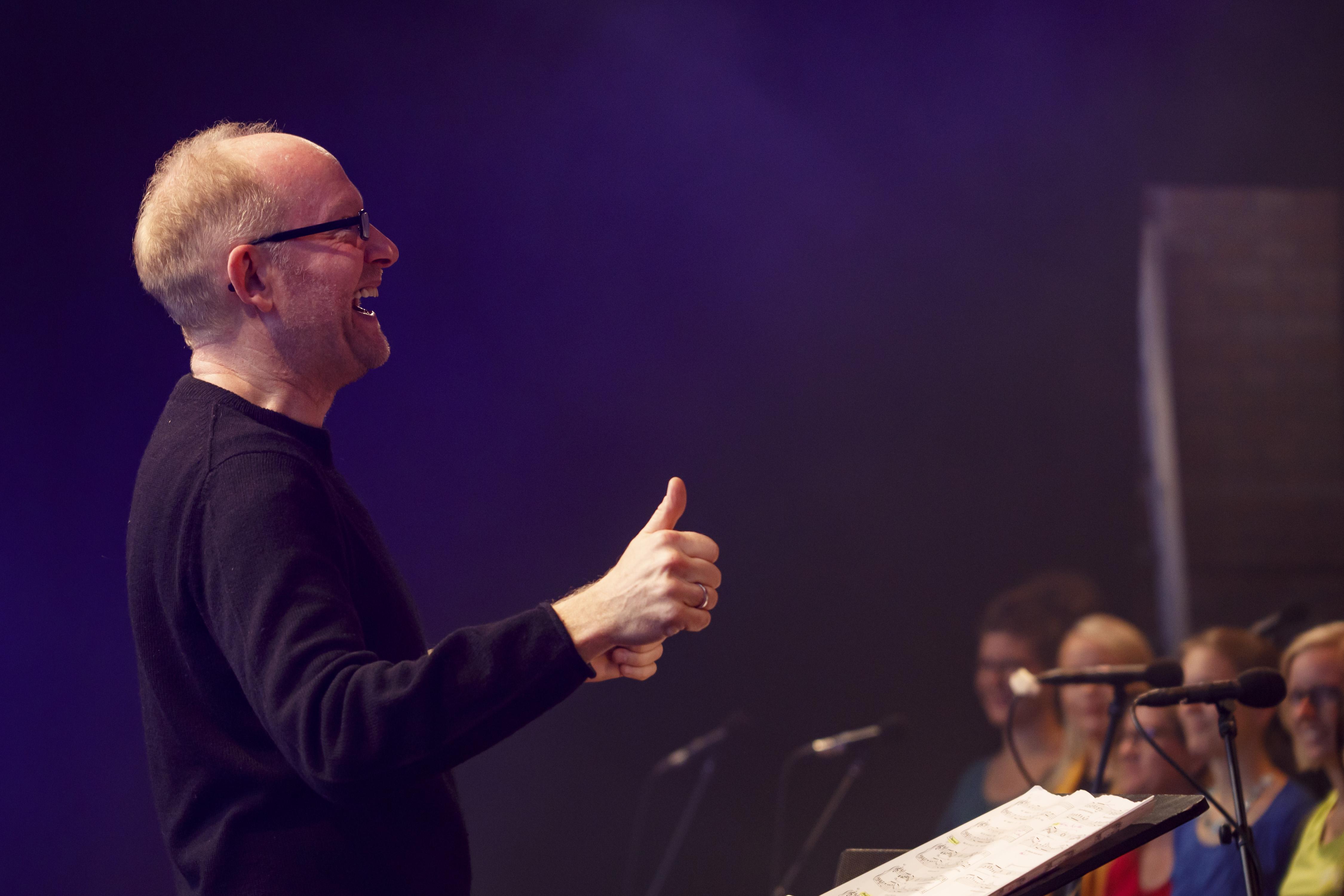 """<span>Rotkäppchen Nacht der Chöre</span> """"Mich stört zunehmend eine Verflachung der Musik"""" Musikproduzent Dieter Falk im Interview"""