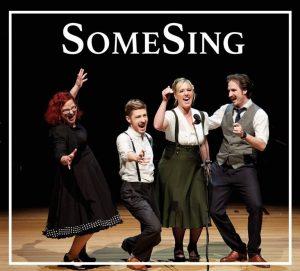 <span>Barbershop aus München</span> SomeSing geben ihr CD-Debüt