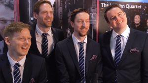 <span>Barbershop-Quartett aus Schweden</span> Ringmasters im Interview