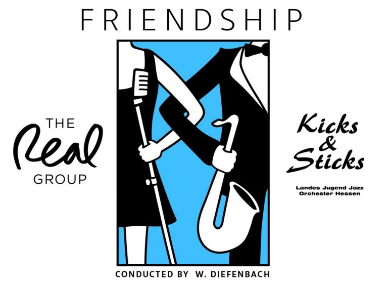 <span>CD-Rezension</span> The Real Group / Kicks & Sticks: Friendship