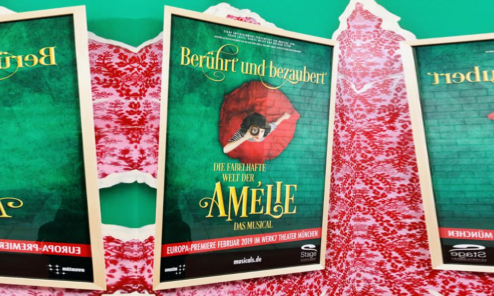 <span>Musicalbesuch in München</span> Amélie im Werksviertel