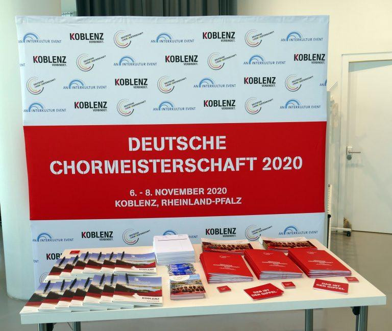 Pressekonferenz: Deutsche Chormeisterschaft