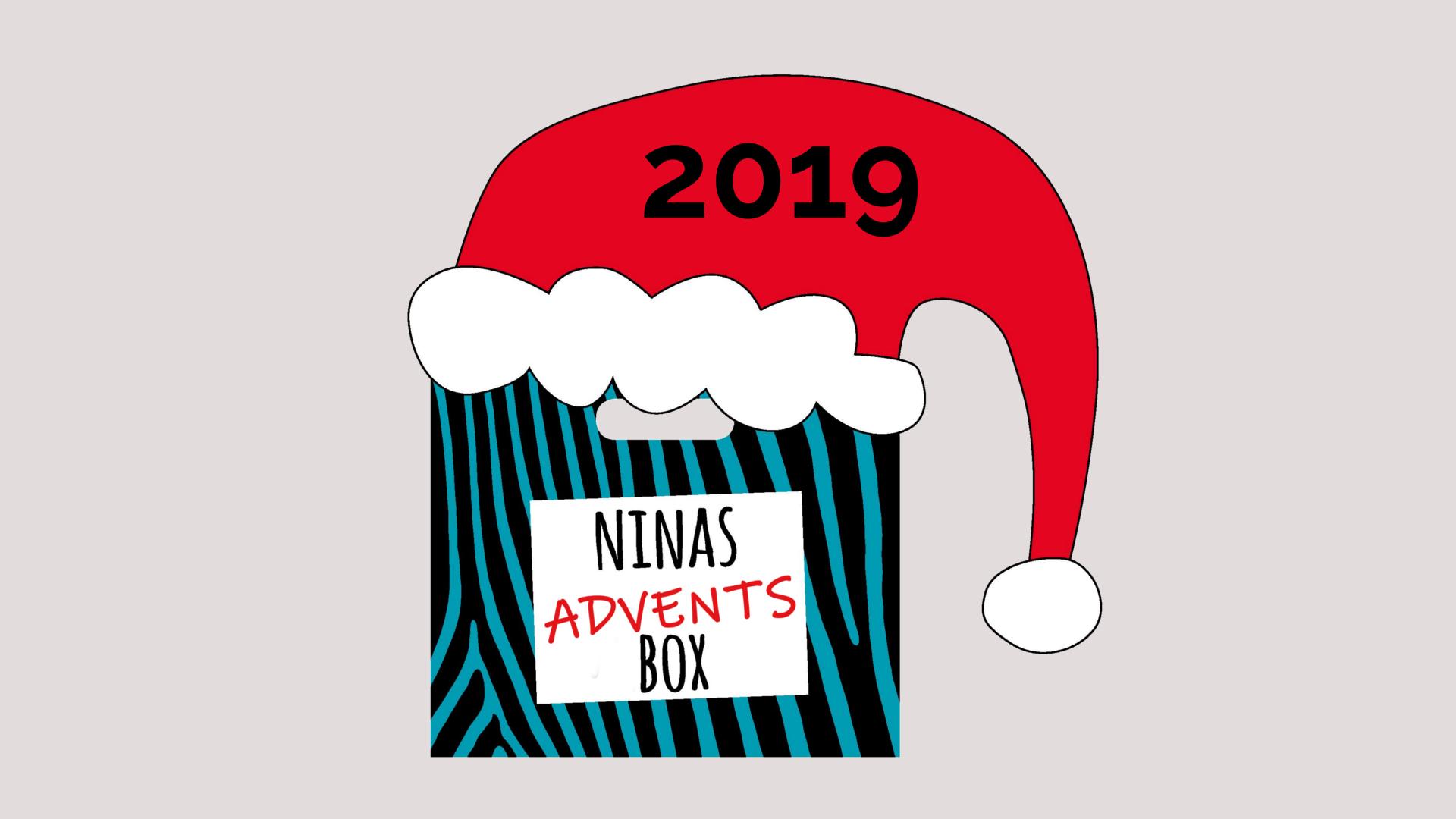 <span>Türchen öffnen!</span> Ninas AdventsBox 2019