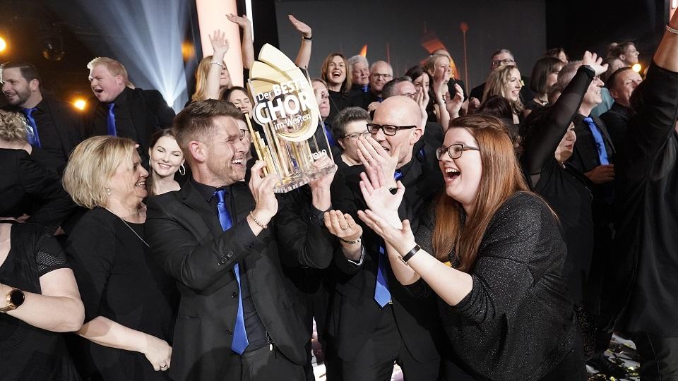 """<span>Rückblick auf """"Der Beste Chor im Westen 2019""""</span> """"Genießt die aufregende Zeit!"""""""