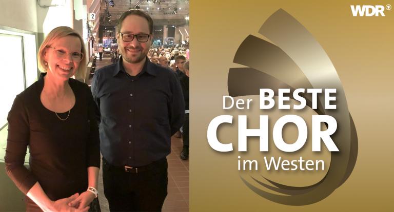 """<span>Finale """"Der Beste Chor im Westen"""" 2019</span> """"Eine Ausdehnung auf das ganze Bundesgebiet wäre wünschenswert."""""""