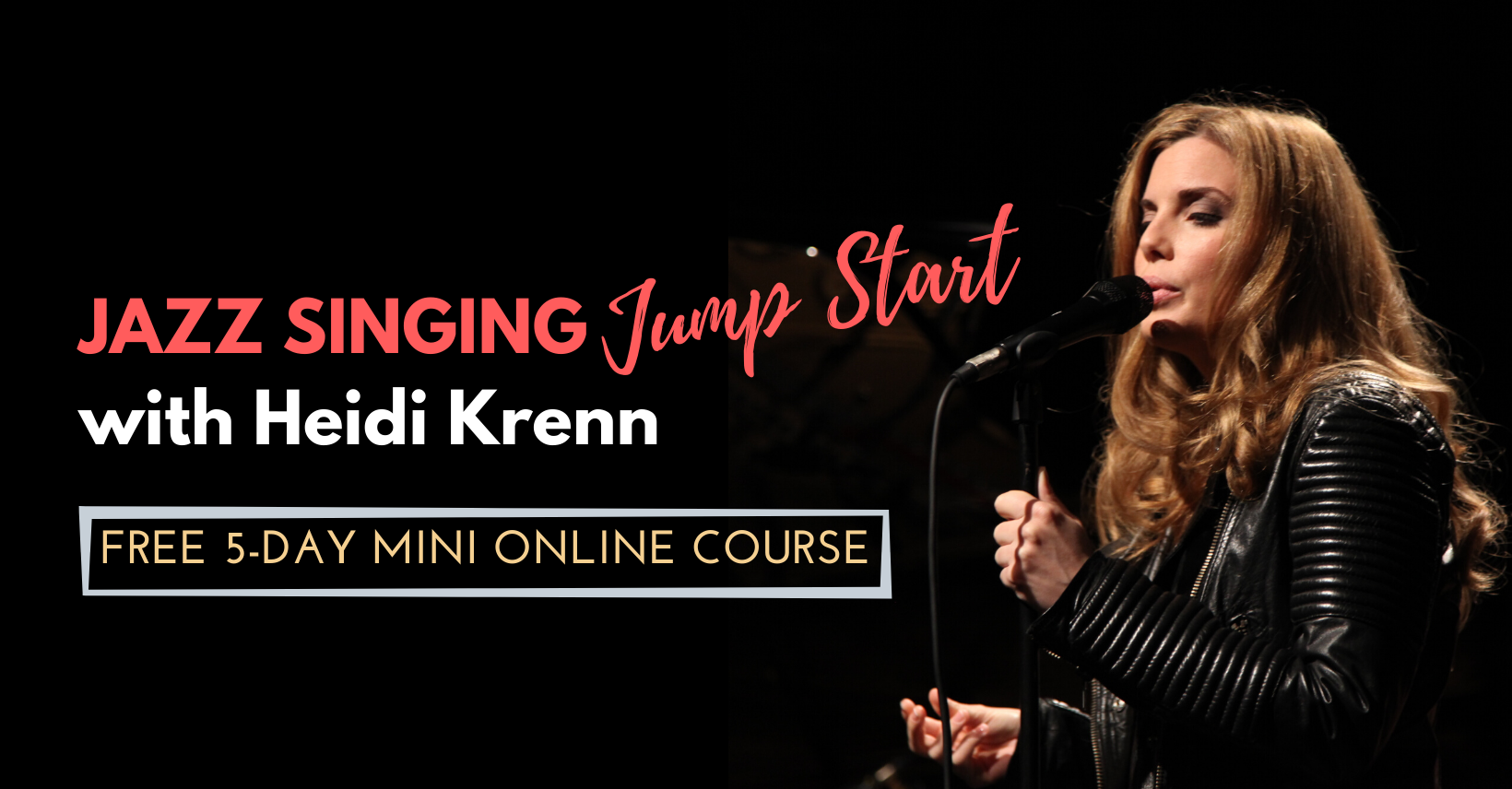 <span>Crashkurs Jazzgesang</span> Jazz Singing Jump Start with Heidi Krenn