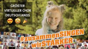 <span>Virtual Choir statt Dt. Chorfest</span> #zusammenSINGENwirSTÄRKER