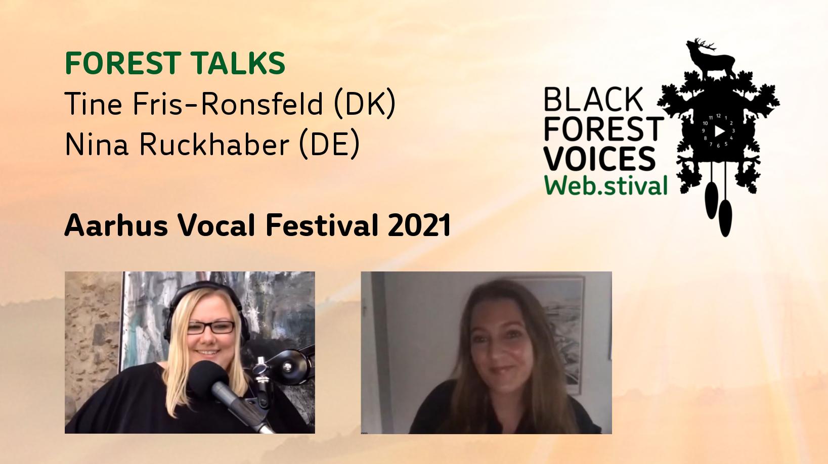 Talk mit Tine Fris-Ronsfeld: Aarhus Vocal Festival 2021