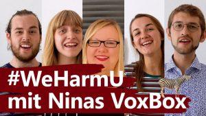#WeHarmU – baff!