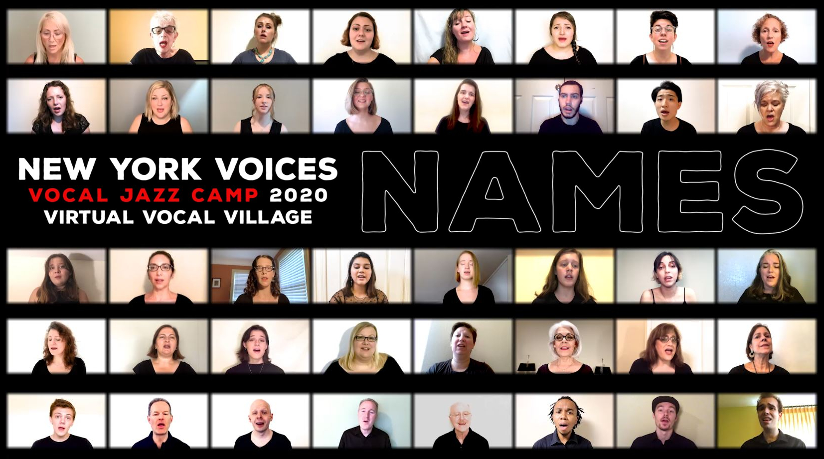NAMES – NYV Virtual Vocal Village 2020