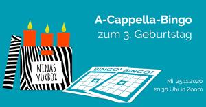 A-Cappella-Bingo