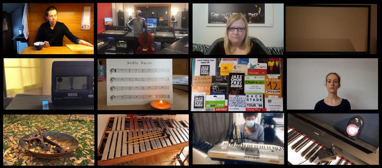 #SangUndKlanglos – der Jazzchor Freiburg schweigt…