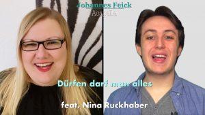 """""""Dürfen darf man alles"""" mit Johannes Feick"""