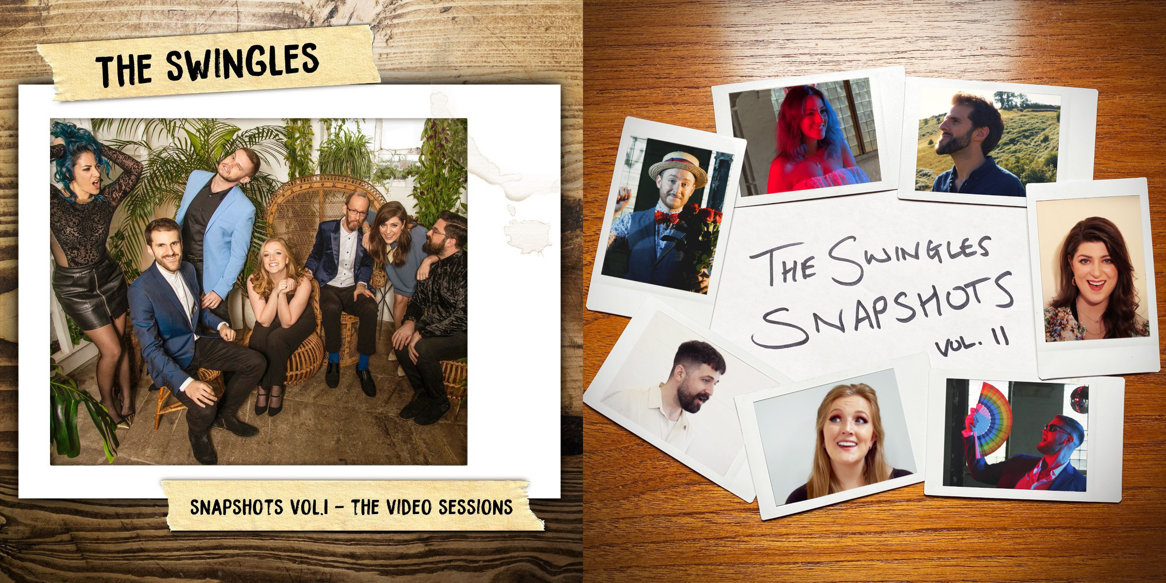 The Swingles: Snapshots Vol. I & II